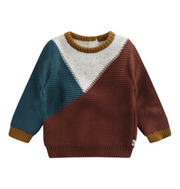 Your Wishes Sweater Intarsia Andel Brick