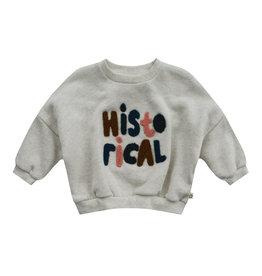 Your Wishes Sweater Melange Nio Chalk