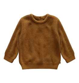 Your Wishes Sweater Plain Knit Andel Spice