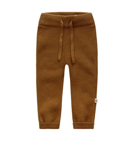 Your Wishes Broek Plain Knit Aro Spice