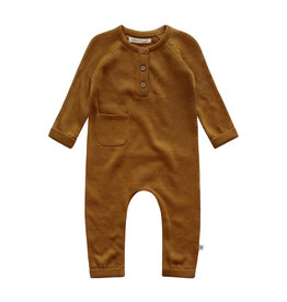 Your Wishes Romper Plain Knit Addie Spice
