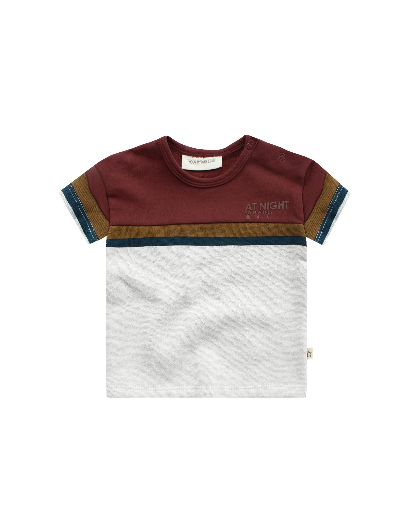 Your Wishes Shirt Stripe Bob Chalk