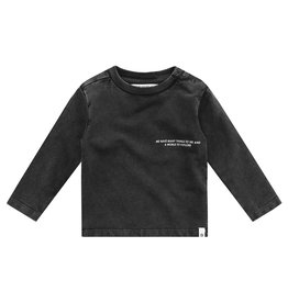 Your Wishes Shirt Stonewash Aiden Charcoal