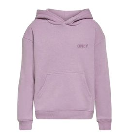 Kids Only Konevery Life Small Logo Hoodie Pnt Noos Lavender Frost