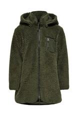 Kids Only Konsascha Sherpa Hood Jacket Cp Otw Kalamata