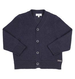 Gymp Cardigan - Knitted Boys Cardig Marine