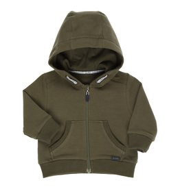Gymp Cardigan - With Hood - Carbond Kaki