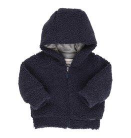Gymp Cardigan - Lined With Hood - N Marine