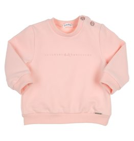 Gymp Sweater - Strass And Bow - Car Lichtrose