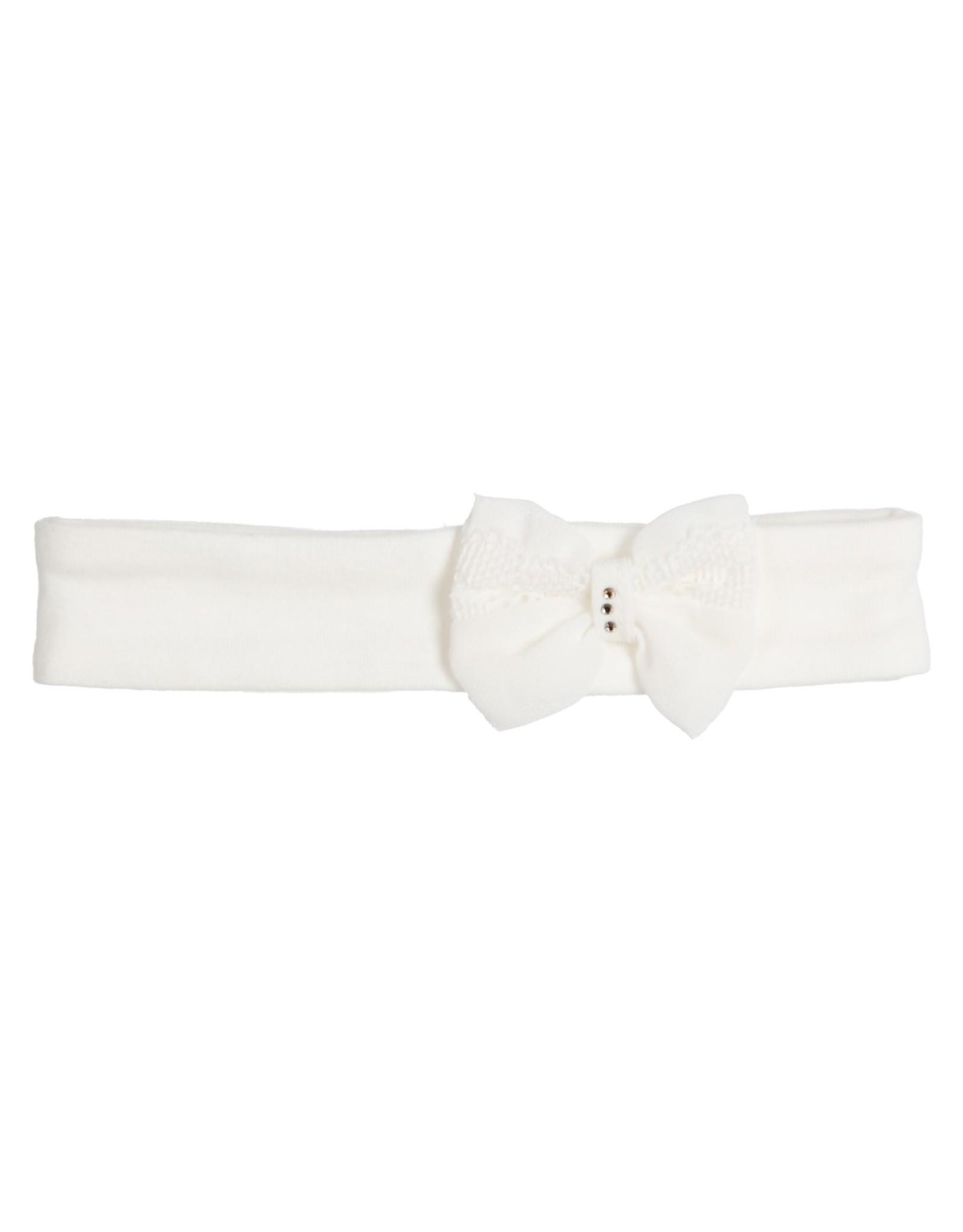 Gymp Haarband - Voile Bow - Aerodou Off-White