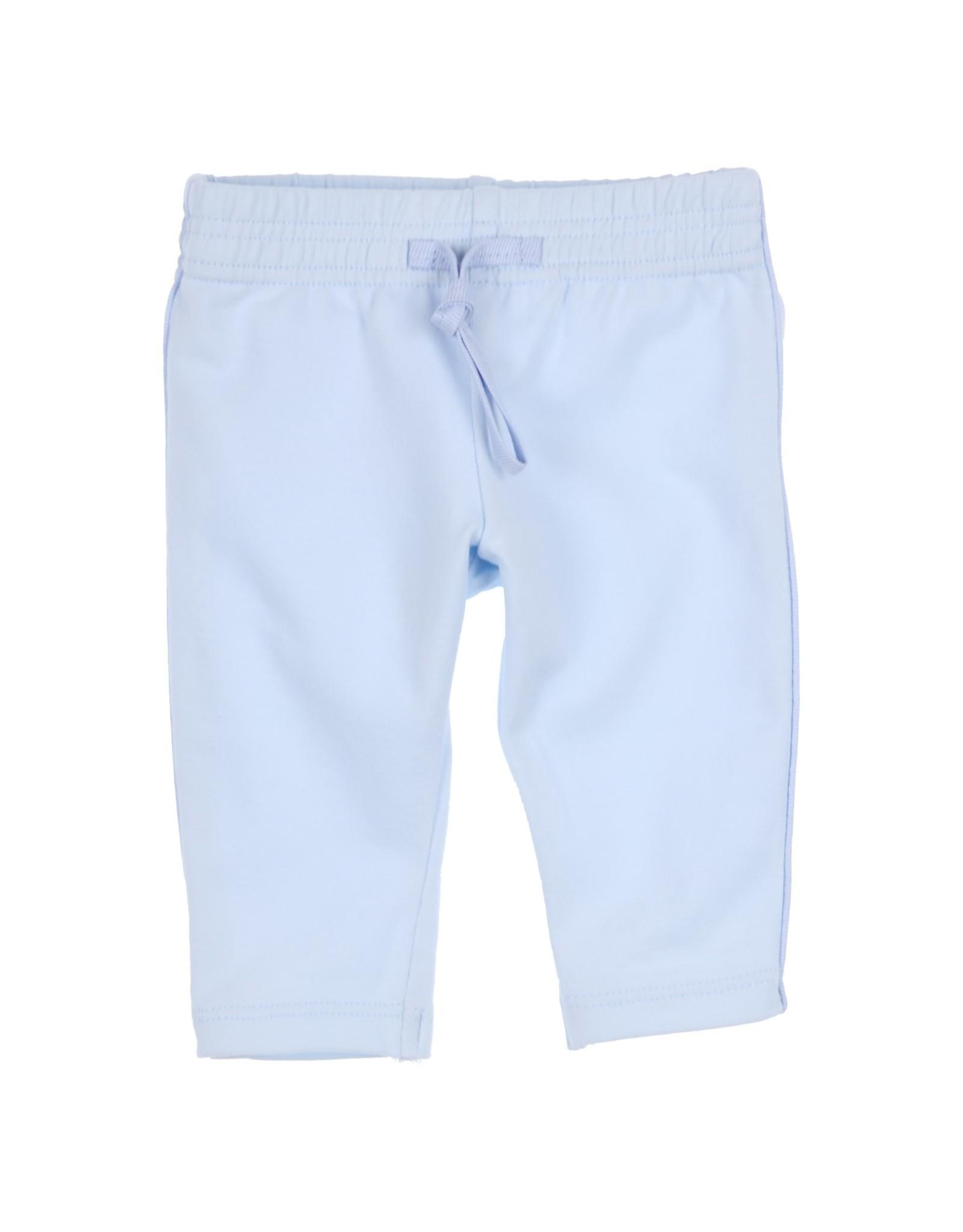 Gymp Pantalon -Passepoil And Pocket Lichtblauw