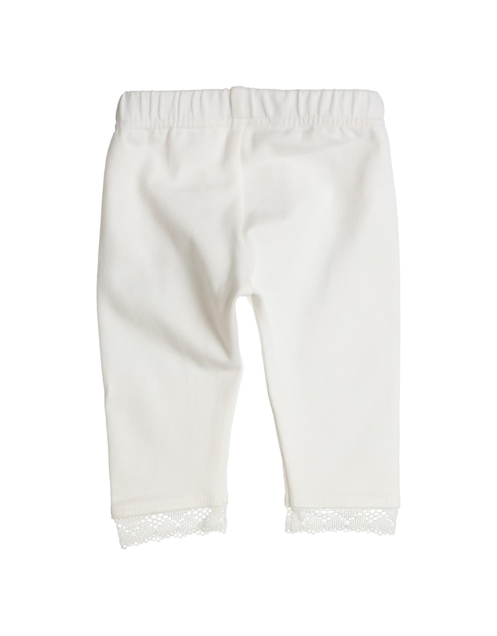 Gymp Legging - Lace Ribbon - Aerodo Off-White
