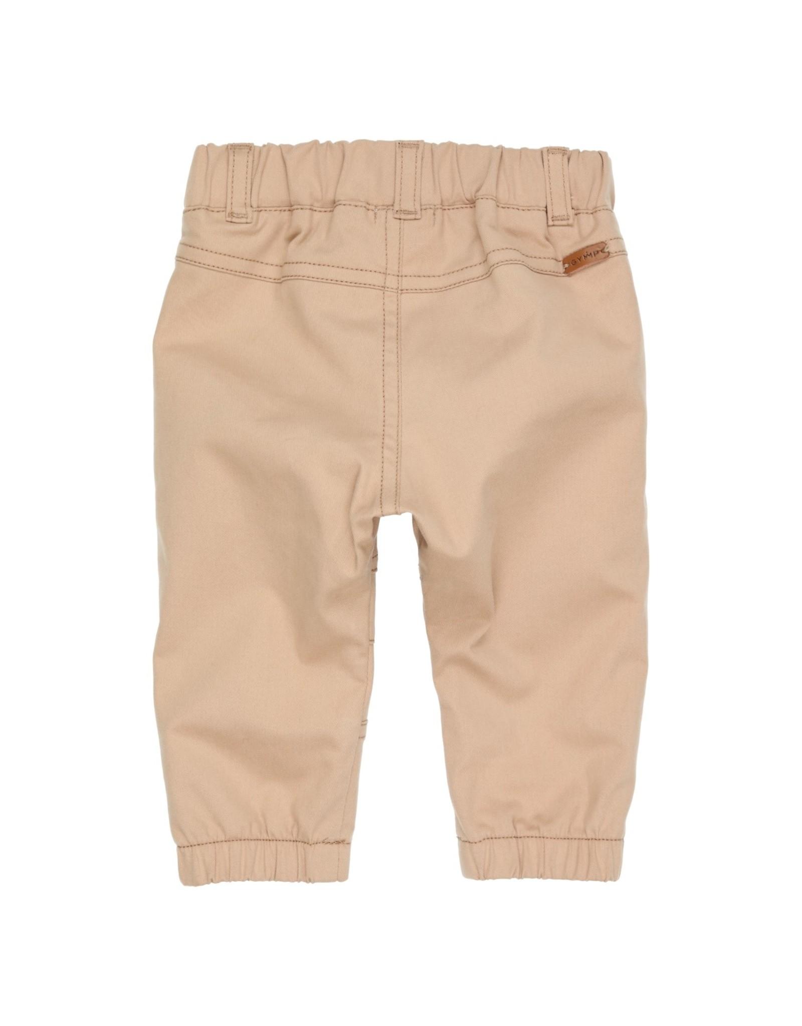 Gymp Pantalon - Elastic Legborder - Beige