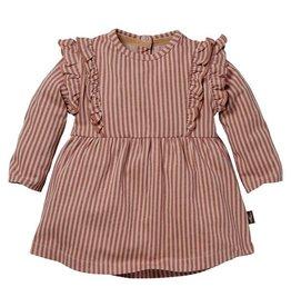 Levv Dress Babs Aop Mauve Stripe