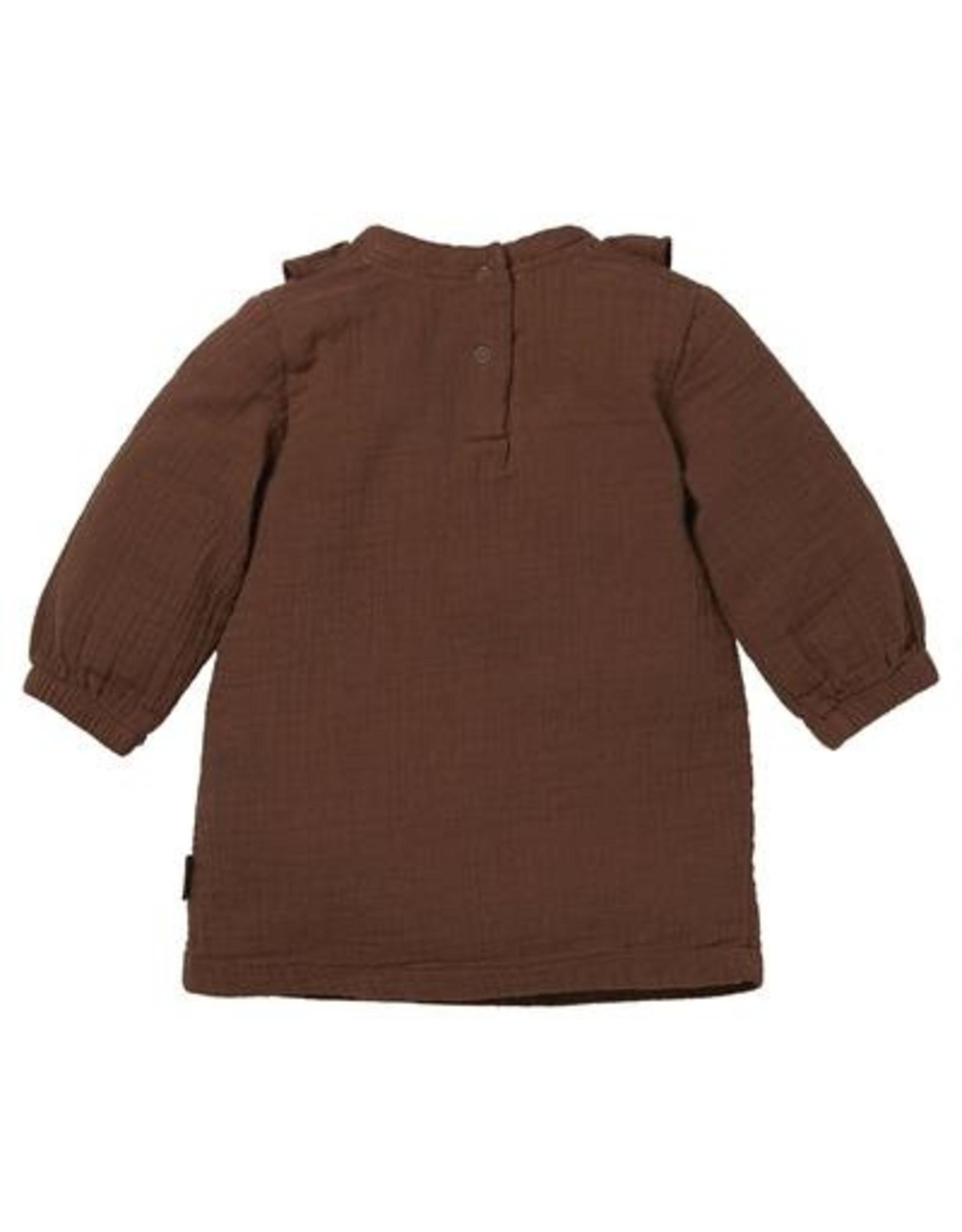Levv Dress Barba Brown Almond