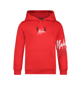 Malelions Junior Captain Hoodie Red/White