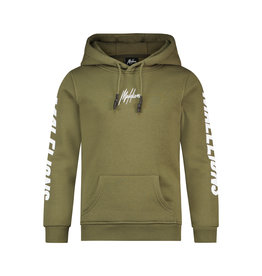 Malelions Junior Lective Hoodie Army