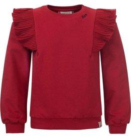 LOOXS Little Girls Sweater Deep Red
