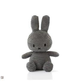 Nijntje Sitting Corduroy Grey - 23 cm