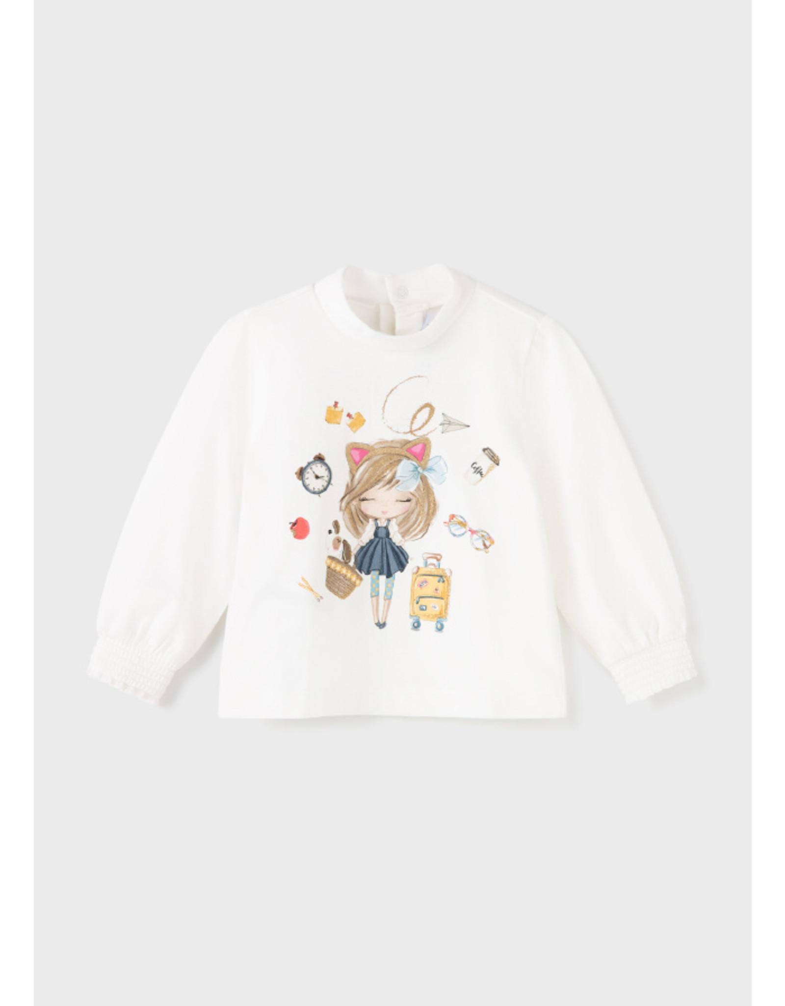 Mayoral Mockneck sweater Natur-must