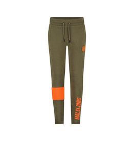 Malelions Junior Sport Captain Trackpants Army/Orange