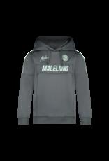 Malelions Junior Sport Warming Up Hoodie Antra/Mint