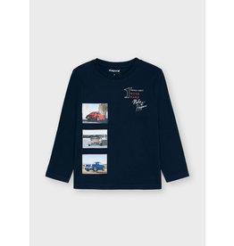 Mayoral photos l/s t-shirt Navy