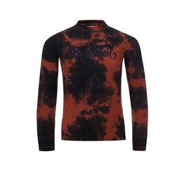 LOOXS 10sixteen T-shirt cloud dye Terracotta