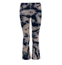 LOOXS 10sixteen velours flare pants navy