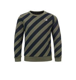 Common Heroes CAS Crewneck sweater printed stripe