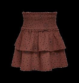 Kids Only Skirt Konmolly Layerd Smock Skirt Cs Ptm Burnt Henna