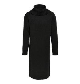 Kids Only Dress Konbrandie L/S Roll Neck Dress Cs Knt Black
