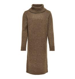 Kids Only Dress Konbrandie L/S Roll Neck Dress Cs Knt Otter