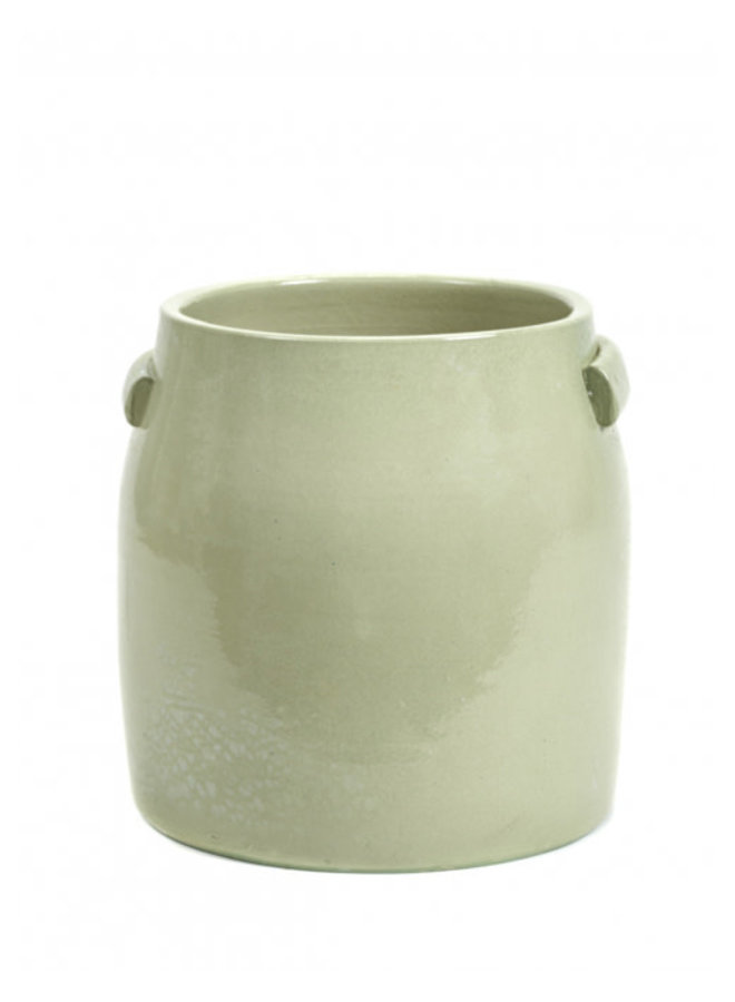 SERAX FLOWER POT L GREEN JARS