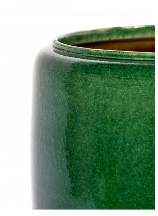 SERAX POT COSTA M GREEN D21 H21
