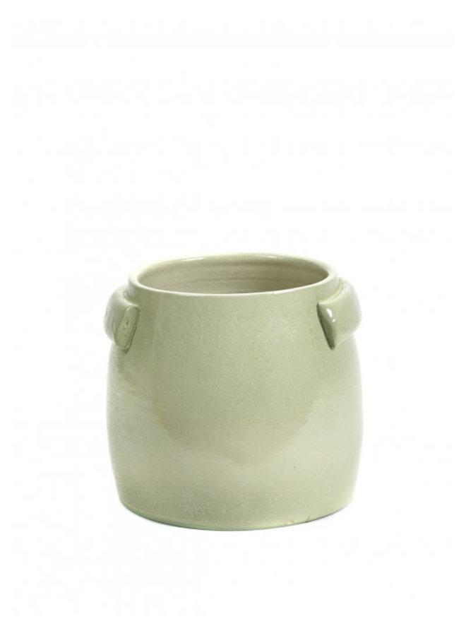 SERAX FLOWER POT S GREEN JARS