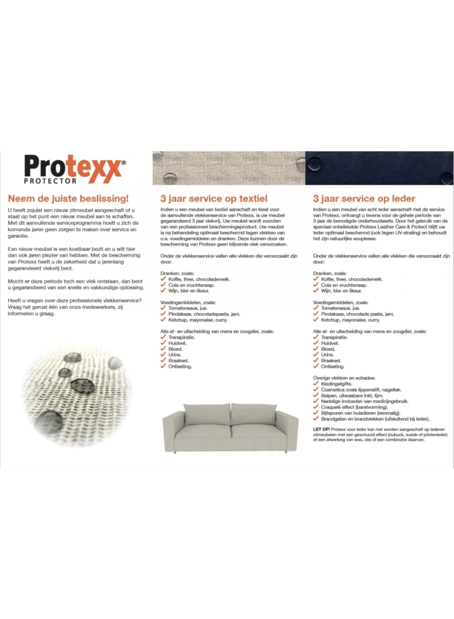 Protexx 5/7 zit
