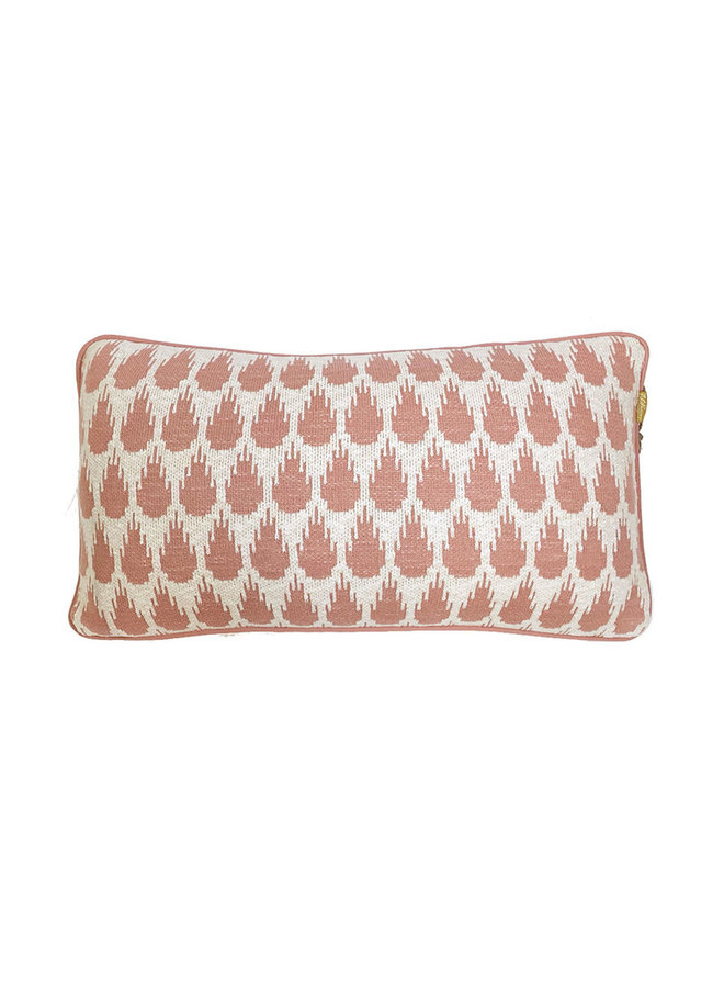 Botanic mini cushion pink