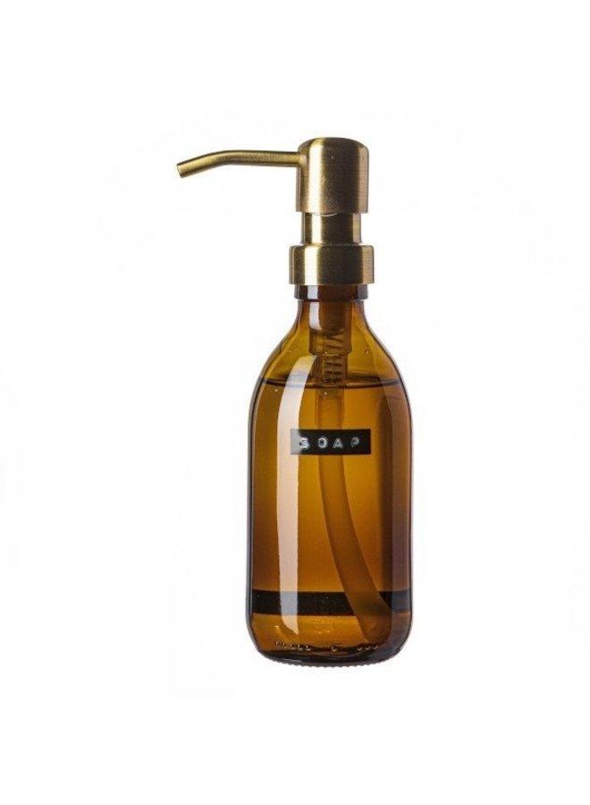 HANDZEEP BRUIN GLAS 'SOAP' 250 ML