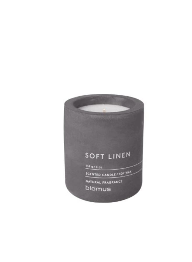 SCENTED CANDLES SOFT LINNEN Ø 6.5  CM