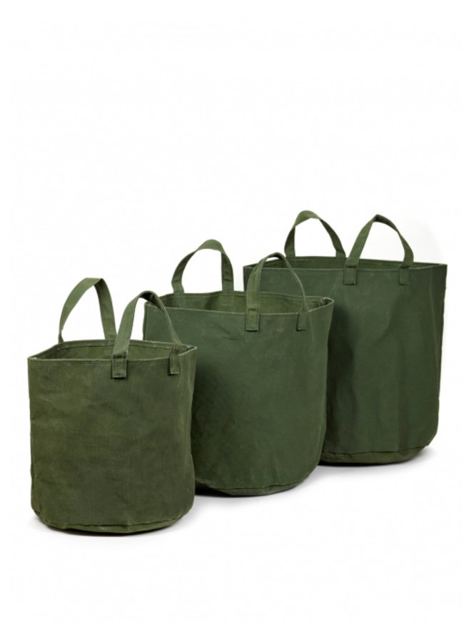 CANVAS MARIE ARMY GREEN L