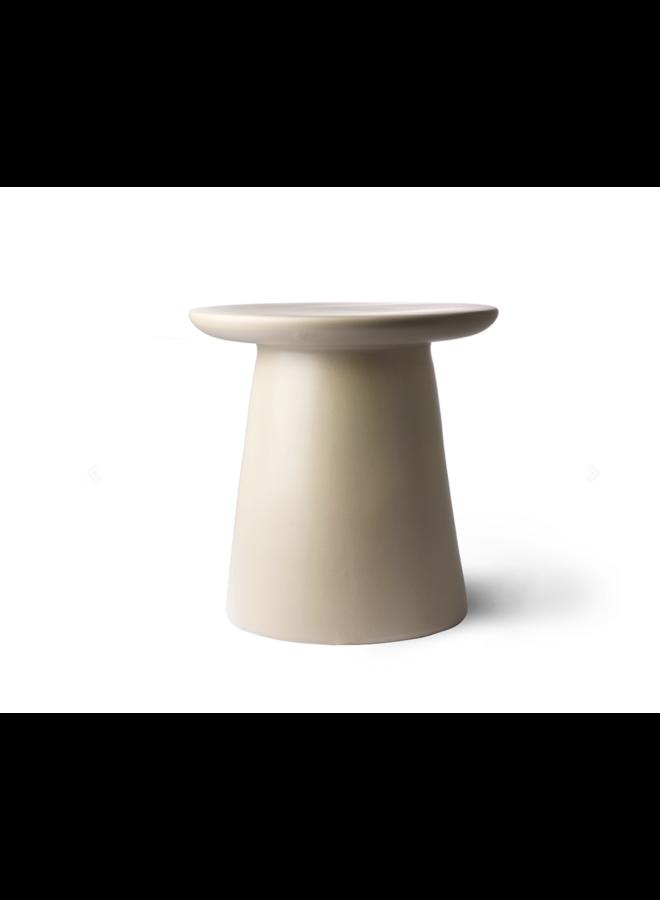 SIDE TABLE EARTHENWARE