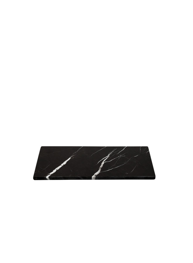 BLACK MARBLE RECTANG BOARD S