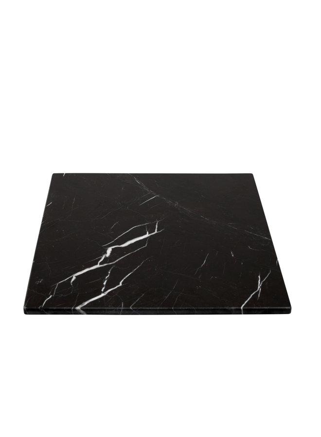 BLACK MARBLE SQUARE BOARD M