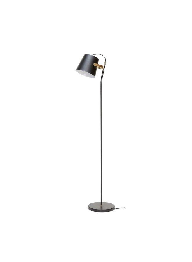 FLOOR LAMP METAL BLACK