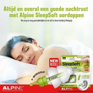 Alpine Hearing Protection Alpine Sleepsoft