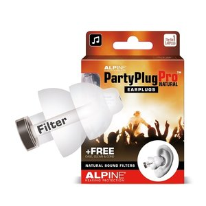 Alpine Hearing Protection Alpine Partyplug PRO Natural