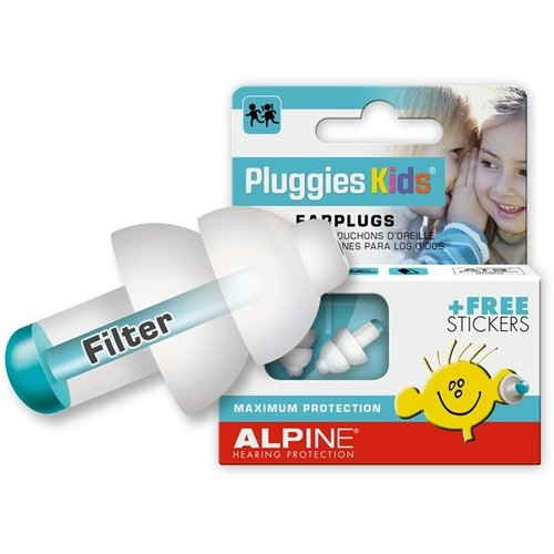 Alpine Hearing Protection Alpine Pluggies Kids