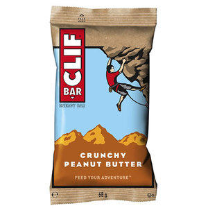 Clif Bar Clif Bar Crunchy Peanut Butter energiereep - doos 12 stuks