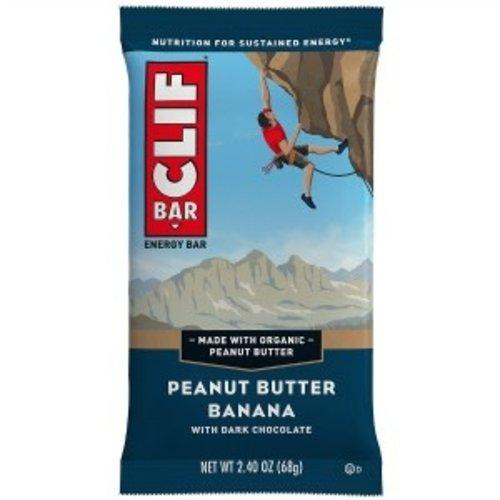 Clif Bar Clif Bar Peanut Butter Banana energiereep - doos 12 stuks